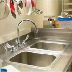 Two Handle Kitchen Faucet What Are The Sharpest Knives 厨房龙头我该选哪种 每日头条 有一个出水口 但有两个把手 分别控制输出冷水和热水 两个安装洞口的距离各企业产品大至一样 因此更换比较简单