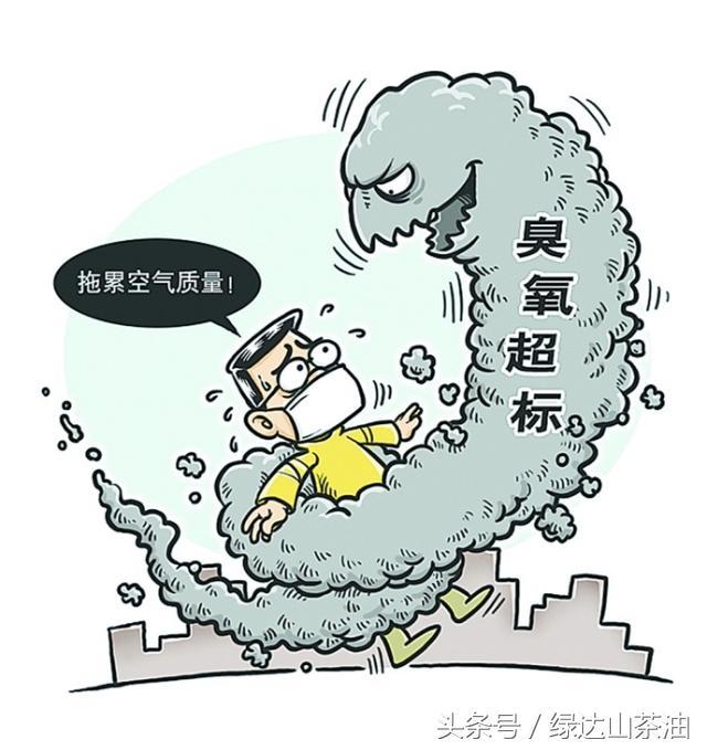熱浪中臭氧爆表。比霧霾更可怕的污染。它對人體到底有什麼危害 - 每日頭條