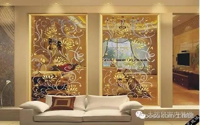 藝術玻璃屏風。為你的家錦上添花 - 每日頭條