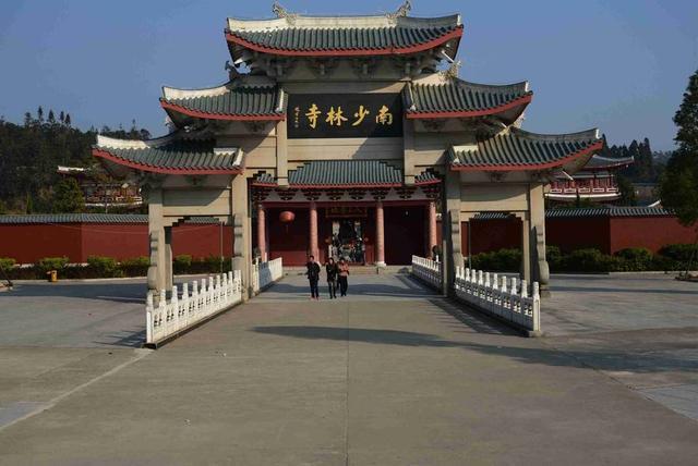 中國此處旅遊景點。因武風盛行。與河南少林寺齊名 - 每日頭條