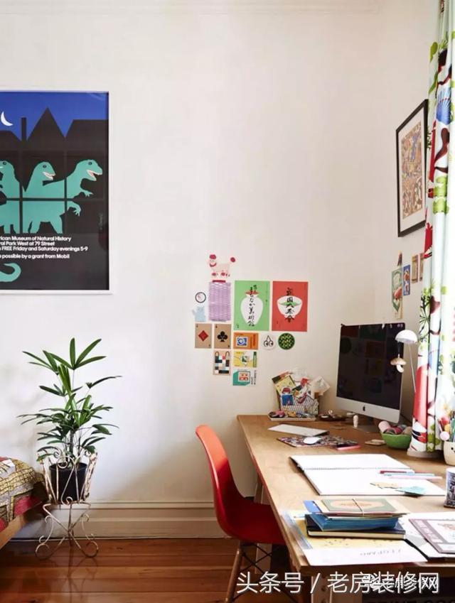 臥室太小放不下書桌?為你盤點了臥室小書桌的設計! - 每日頭條