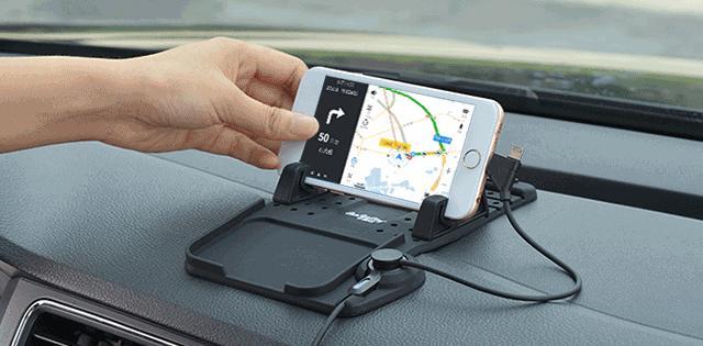 開車怎麼用手機導航?什麼樣的車載手機支架好? - 每日頭條