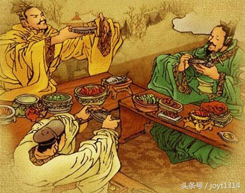 中華文明之飲食的禮儀 - 每日頭條