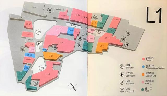 看點    收集50張商場平面圖,看購物中心動線規劃 - 每日頭條
