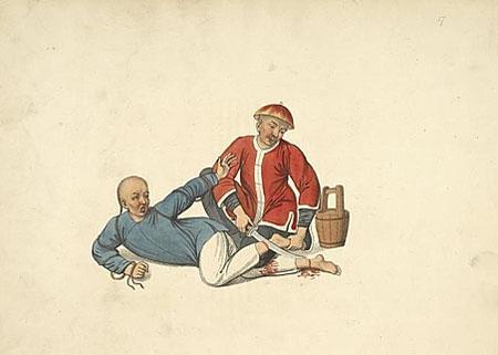 中國十九世紀初的刑罰 看著直流汗(最全寫照) - 每日頭條