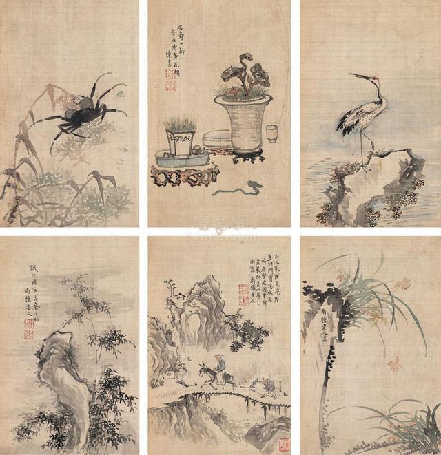清-女畫家陳書作品欣賞 - 每日頭條