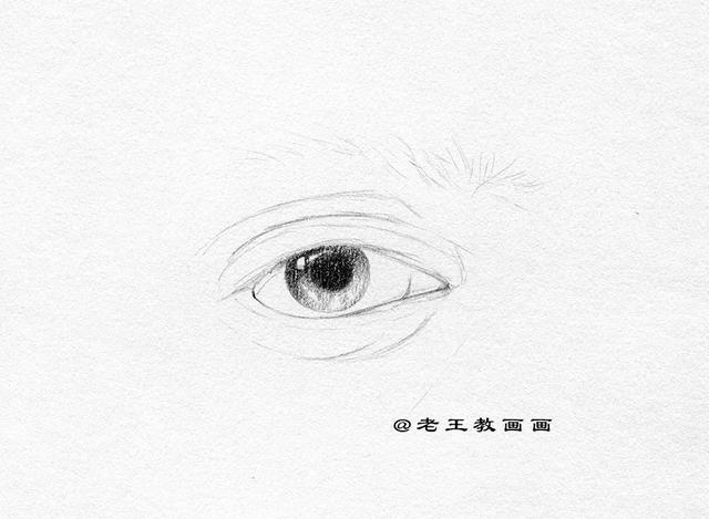 素描眼睛的畫法。詳細過程講解 - 每日頭條