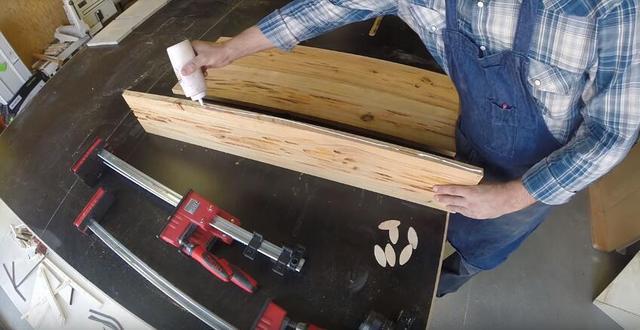 木板上挖出難看凹槽。被朋友嫌棄。可隨後都想開價買走 - 每日頭條