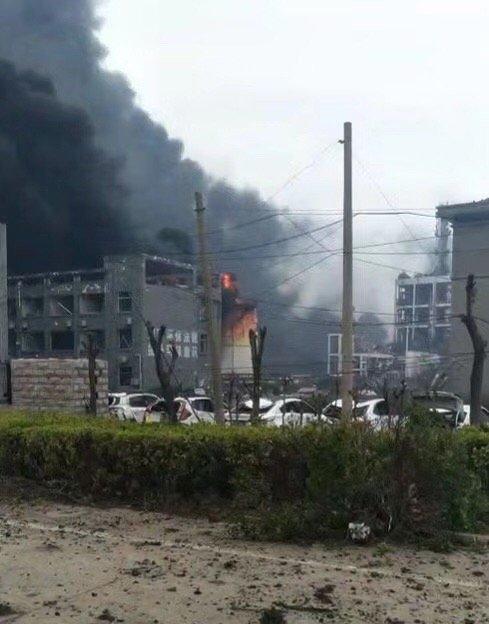 3·21鹽城天嘉宜化工廠爆炸現場圖 造成多人受傷 - 每日頭條