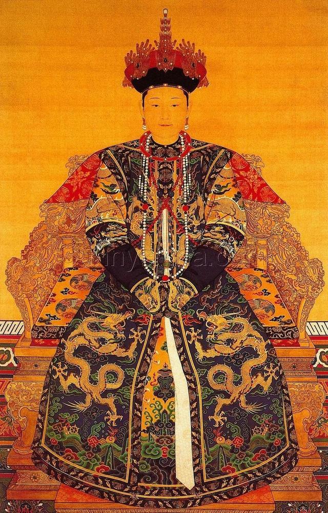 清朝皇后清晰畫像一覽,看看誰最漂亮 - 每日頭條
