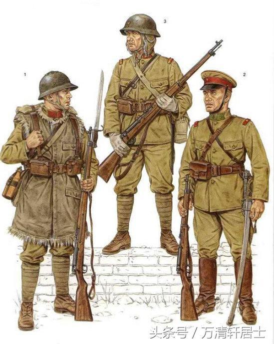 圖說:二戰日軍單兵裝備和軍服! - 每日頭條