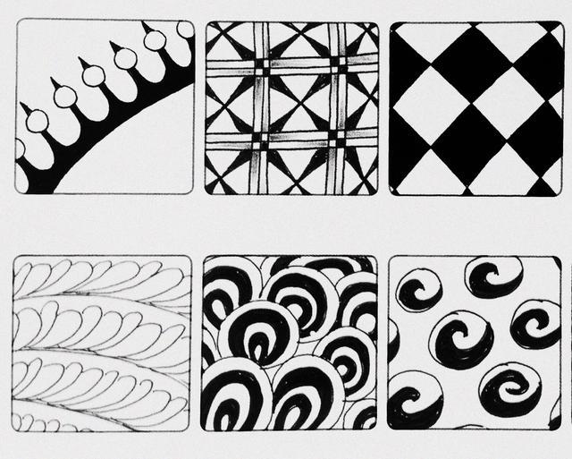 簡單就是終極的複雜——禪繞畫 基本圖樣(九) - 每日頭條