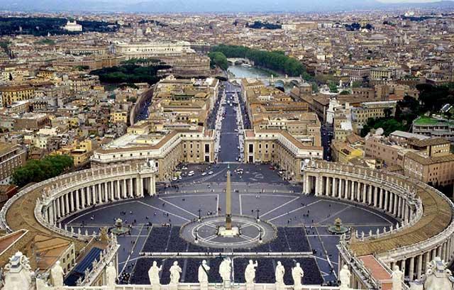 羅馬教皇統治的世俗領地——教皇國的建立與消失 - 每日頭條