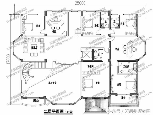 3套農村法式別墅。看土豪都怎麼蓋房!含平面圖+效果圖 - 每日頭條