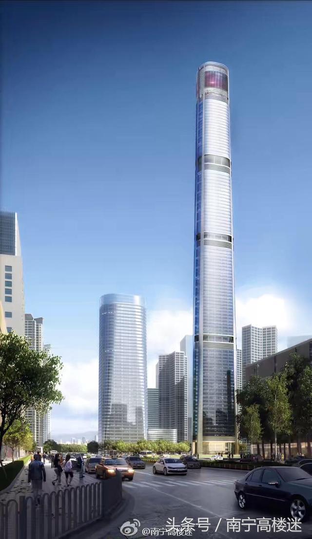 帶你看看南寧那些在建/建成的300米以上的摩天大樓 - 每日頭條