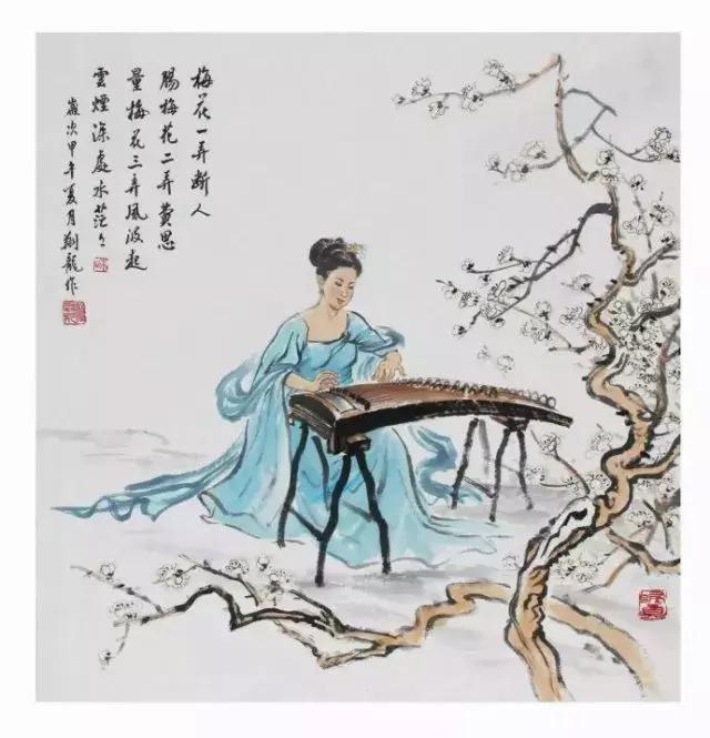 中國十大名曲之《梅花三弄》背後的故事 - 每日頭條