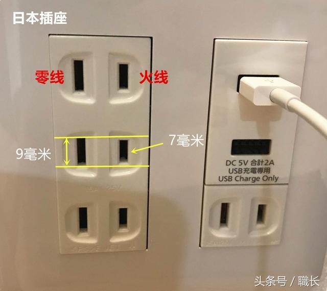 為什麼日本的電源插座。零線插孔要比火線長2毫米? - 每日頭條