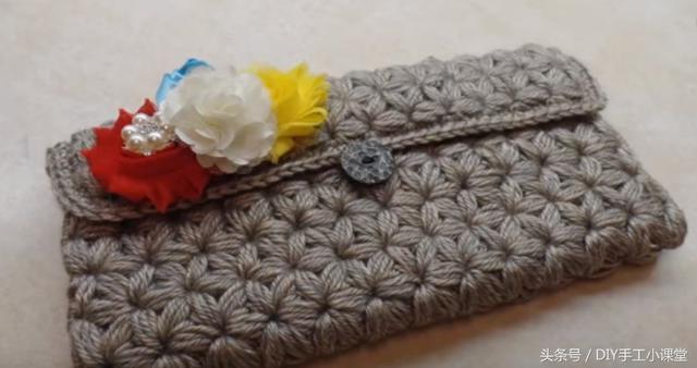 巧手製作好看的針織手拿包 - 每日頭條