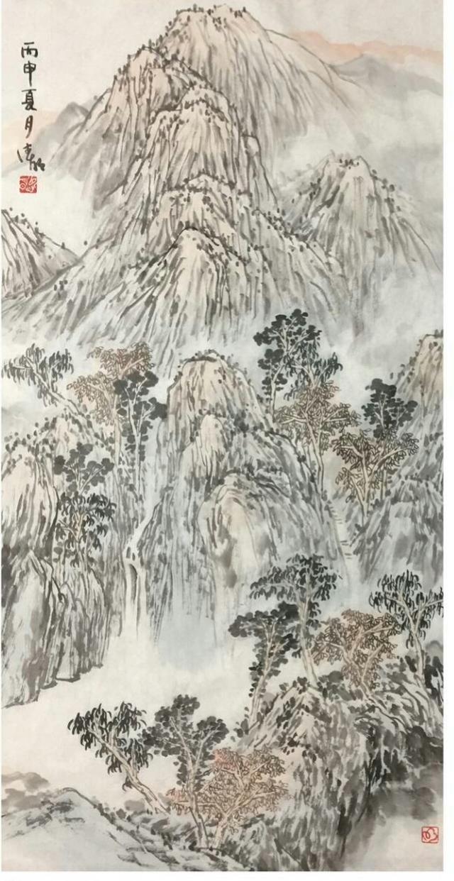 中國水墨畫和西方水彩畫欣賞 - 每日頭條