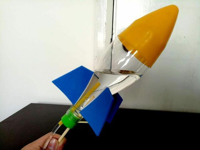 航模製作丨教你自製水火箭 - 每日頭條