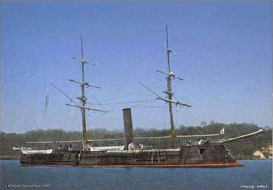 十九世紀中後期世界海軍艦種概論——各顯神通的早期各式鐵甲艦1 - 每日頭條