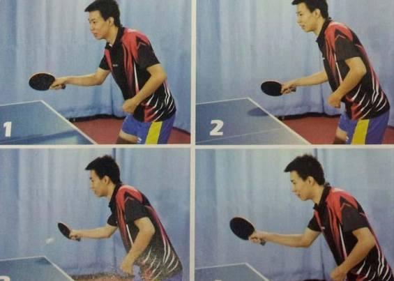 桌球網技術桌球技術:經驗分享 快速掌握反拉弧圈球只需4步(將防禦變成進攻) - 每日頭條