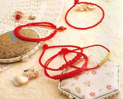 好運常來紅繩手鍊編織方法圖解教程 - 每日頭條