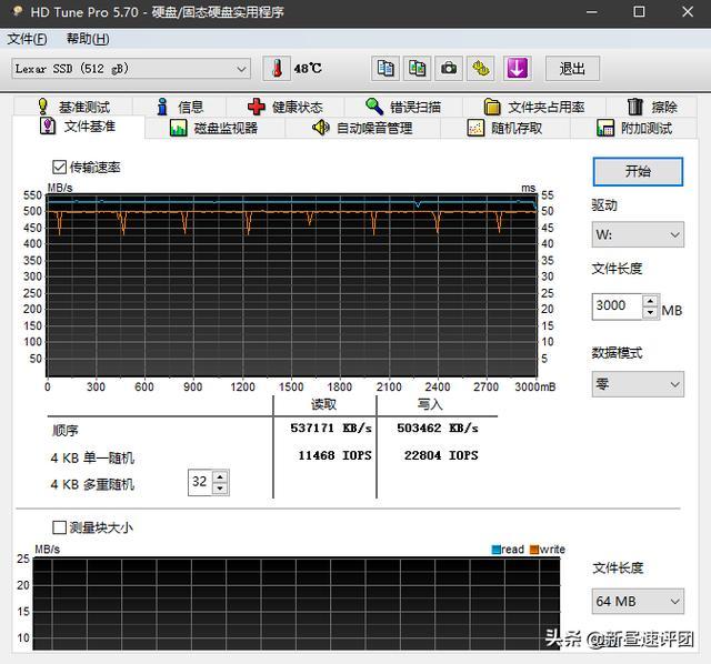 性價比高還耐用的SATA固態。雷克沙NS100固態硬碟評測 - 每日頭條