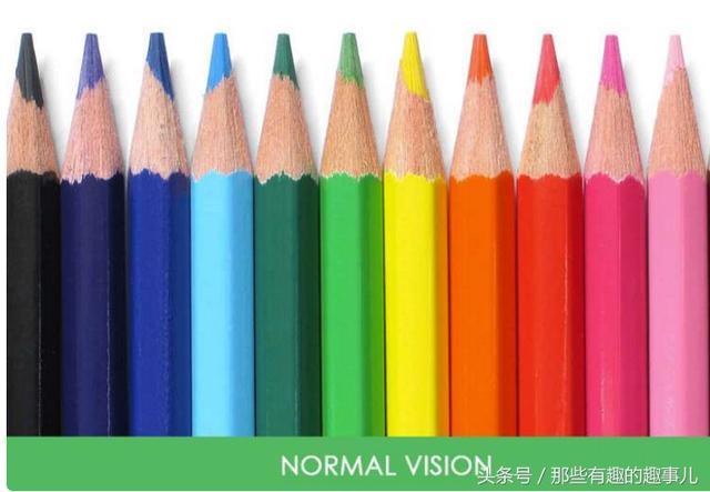 最近國外瘋狂的色盲眼中的視界對比照。少了某種顏色的世界是這樣 - 每日頭條