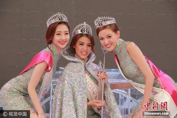 2017香港小姐三甲出爐 23歲雷莊兒斬獲雙料冠軍 - 每日頭條