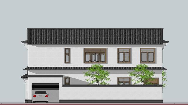 16.0*22.4m雲南普洱施家兩層三合院建造! - 每日頭條