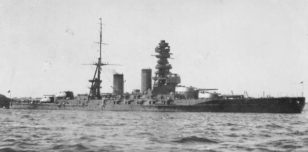 二戰日本長門號戰列艦 海軍的主力戰鬥之神 - 每日頭條