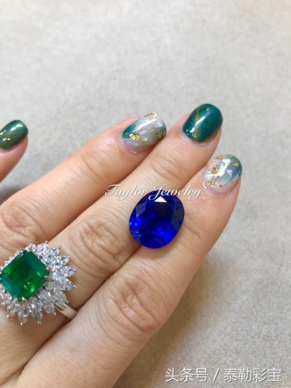 矢車菊藍寶石與絲綢藍寶石是一樣的嗎?泰勒彩寶 - 每日頭條