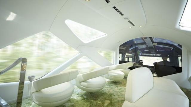 日本超級豪華列車上路首次亮相 它究竟有多豪華? - 每日頭條
