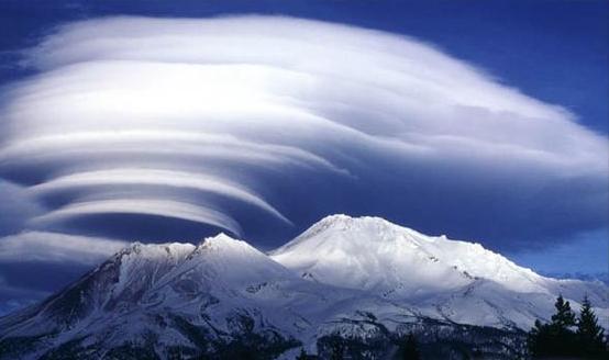 自然奇景-莢狀雲 - 每日頭條