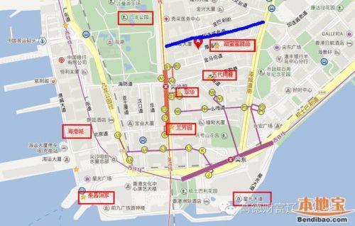 2016香港最全尖沙咀美食地圖 有了它吃貨們再也不用愁了 - 每日頭條