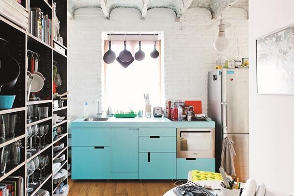 好廚房的設計尺寸。一字型廚房你可以這樣做! - 每日頭條