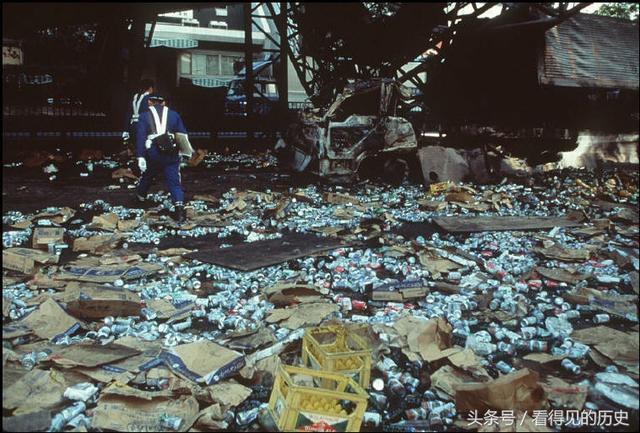 95年阪神大地震後的神戶滿目瘡痍,仿佛遭受了原子彈攻擊 - 每日頭條
