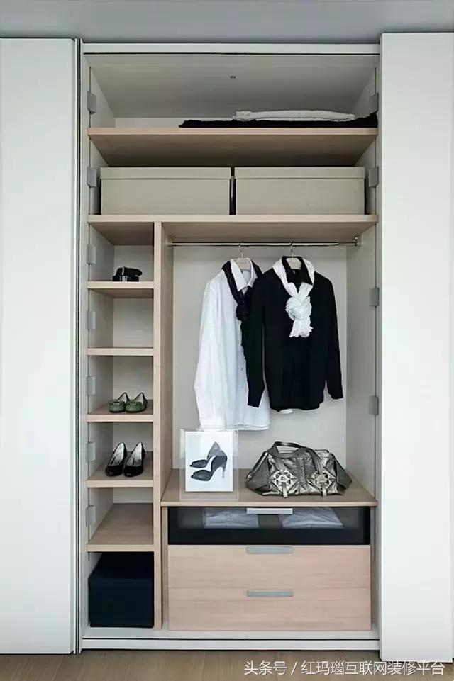 衣櫃一定要這樣設計才正確(實實在在的乾貨)! - 每日頭條