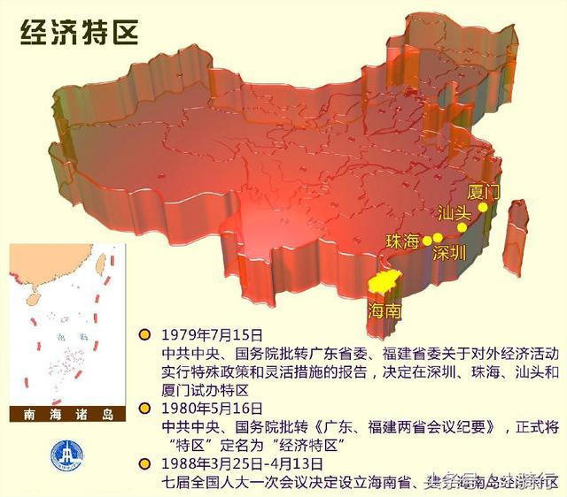 中國的7個經濟特區 - 每日頭條