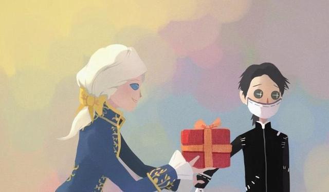 第五人格漫畫:約瑟夫送給卡爾的禮物居然是一堆口罩。好甜吶 - 每日頭條