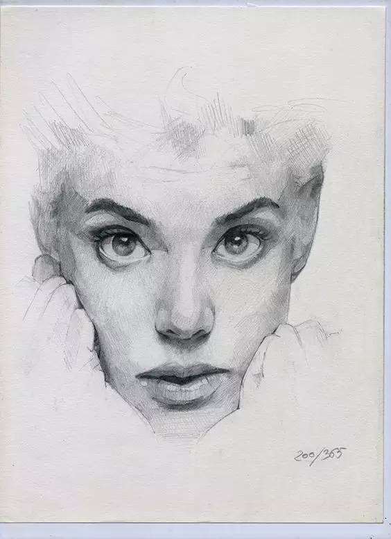 素描繪畫課程之臉部繪畫-不會的跟上 - 每日頭條