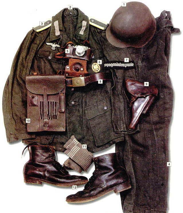 史上最全二戰德軍單兵裝備盤點(絕非宣傳納粹) - 每日頭條