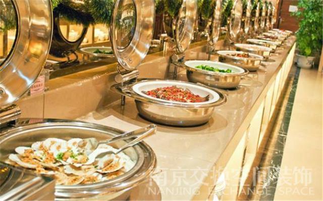 自助餐廳裝修中自助餐檯的設計原則 - 每日頭條