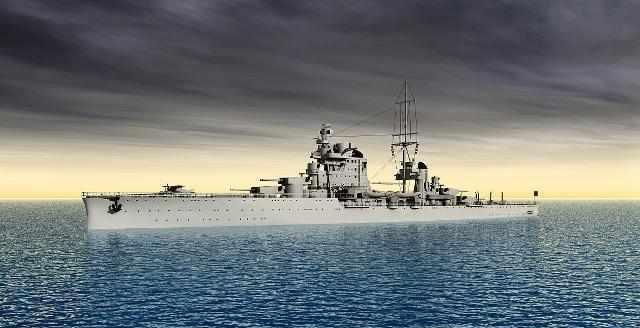 條約時代的義大利輕巡洋艦:以法國為假想敵 二戰中毫無用武之地 - 每日頭條
