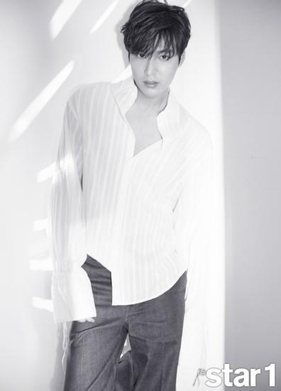 李敏鎬登時尚雜誌拍大片 - 每日頭條