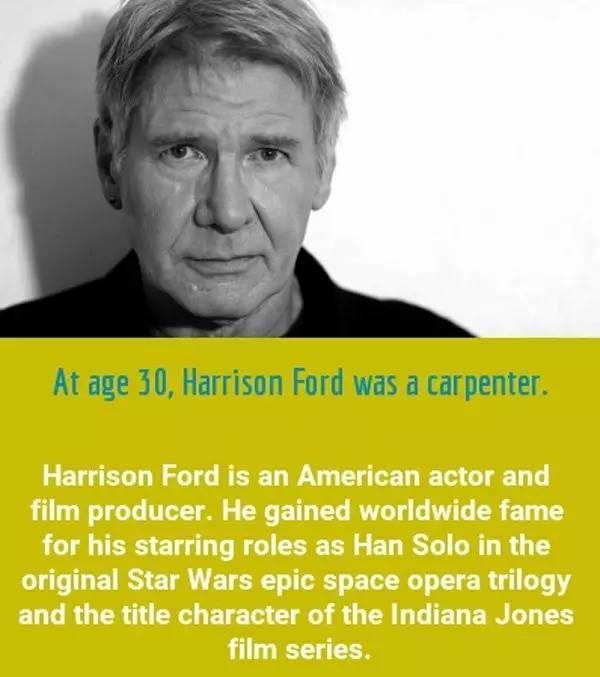 這些名人成名的年齡比你想像得晚的多,有80歲才成名的 - 每日頭條