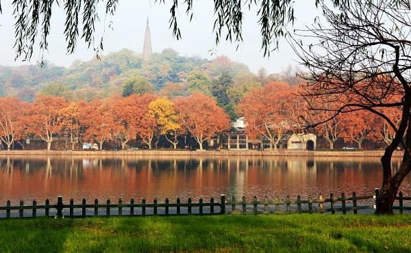 醉美杭州西湖秋景。體驗別有洞天的西湖秋景 - 每日頭條