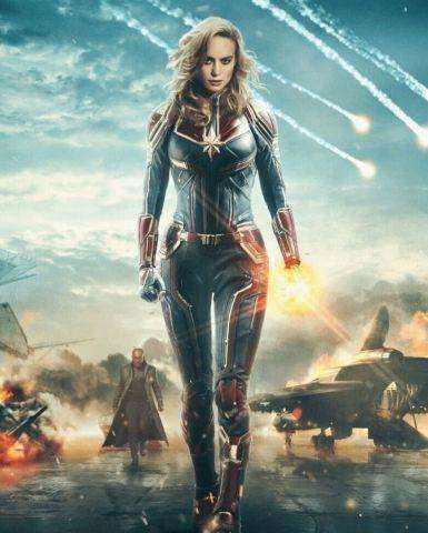 將改變整個漫威的超級英雄《驚奇隊長》,戰鬥能力最強的女英雄 - 每日頭條