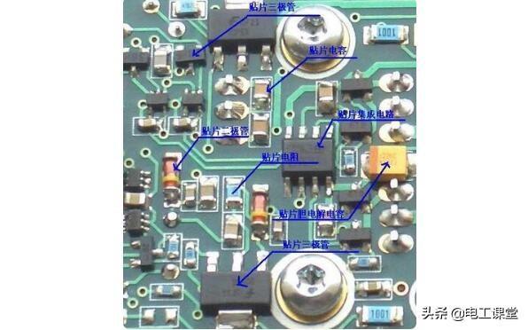 電路板的工作原理 - 電路板為什麼是綠色的_電路板上的元件介紹圖 - 每日頭條
